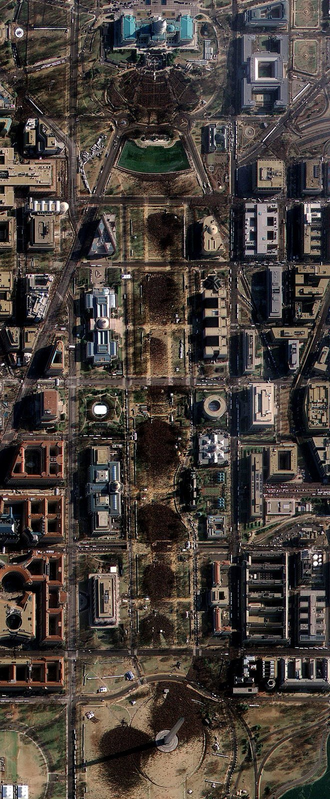 Inauguration from Space